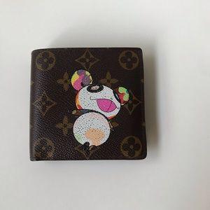 Louis Vuitton Monogram Panda Wallet